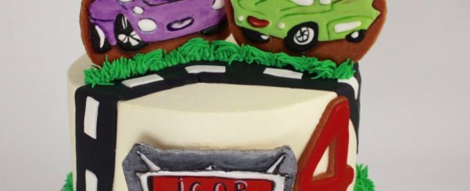 Birthday cake for a Cars lover!